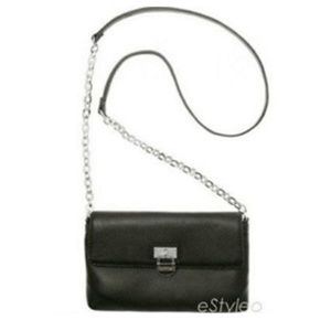 Calvin Klein Crossbody Shoulderbag Leather Black